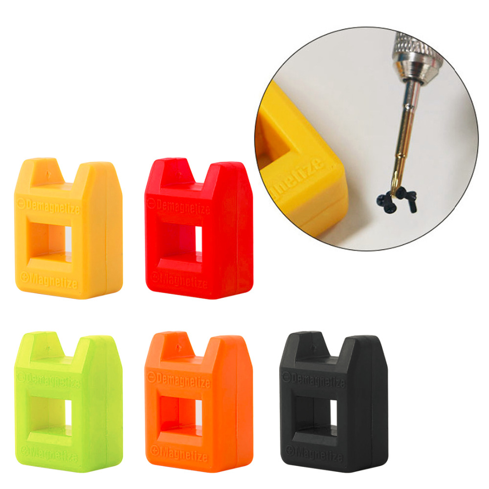 Magnetizer And Demagnetizer Mini - Fast 2 In 1 Tool Screwdriver Magnetic High Quality Colour Send Random