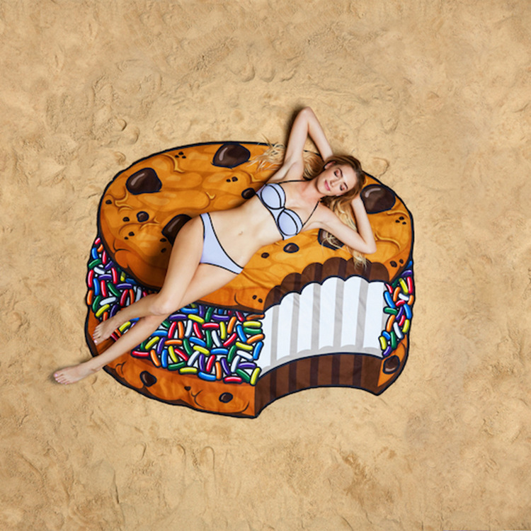 Hot Sales Bikini Beach Donut Cover Up Robe De Bain Swimsuit Cover Ups Pareos Beach Sarongs Mats Summer Beach Swimwear Women