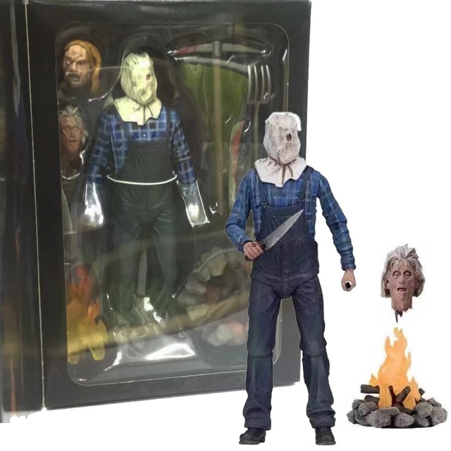 18cm NECA Friday the 13th Part 2 Jason Voorhees PVC Action Figure Collectible Model Toy for Christmas Gift