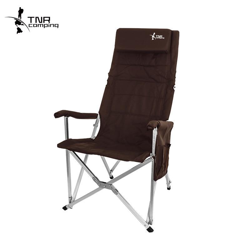 Chaise de pêche pliable 600D Oxford chaise de Camping en alliage d'aluminium chaise extérieure outil de pêche Portable 250 kg portant 3 couleurs