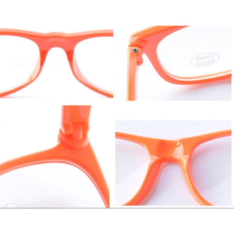 Klare Linse Gläser Rahmen Leopardenmuster Brillen Männer Frauen ...