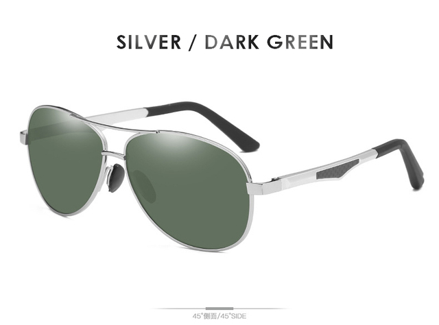 Silver-Dark Green