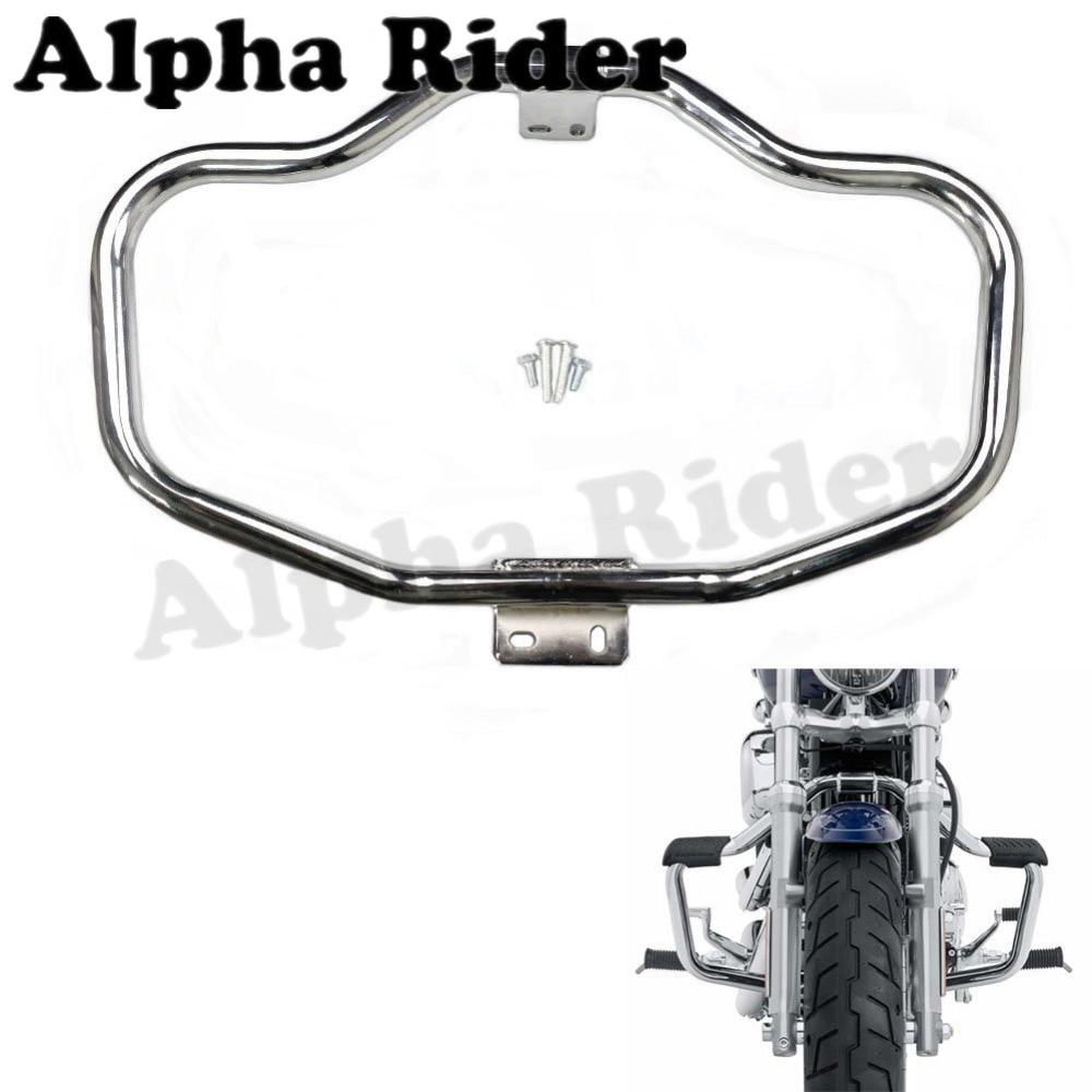 Gekwalificeerd Voorbumper Buffer Crash Bar Knieën Benen Beschermen Motor Guard Voor Harley Sportster 48 72 Xl 883 1200 Iron Lage Custom 04-17 16 15