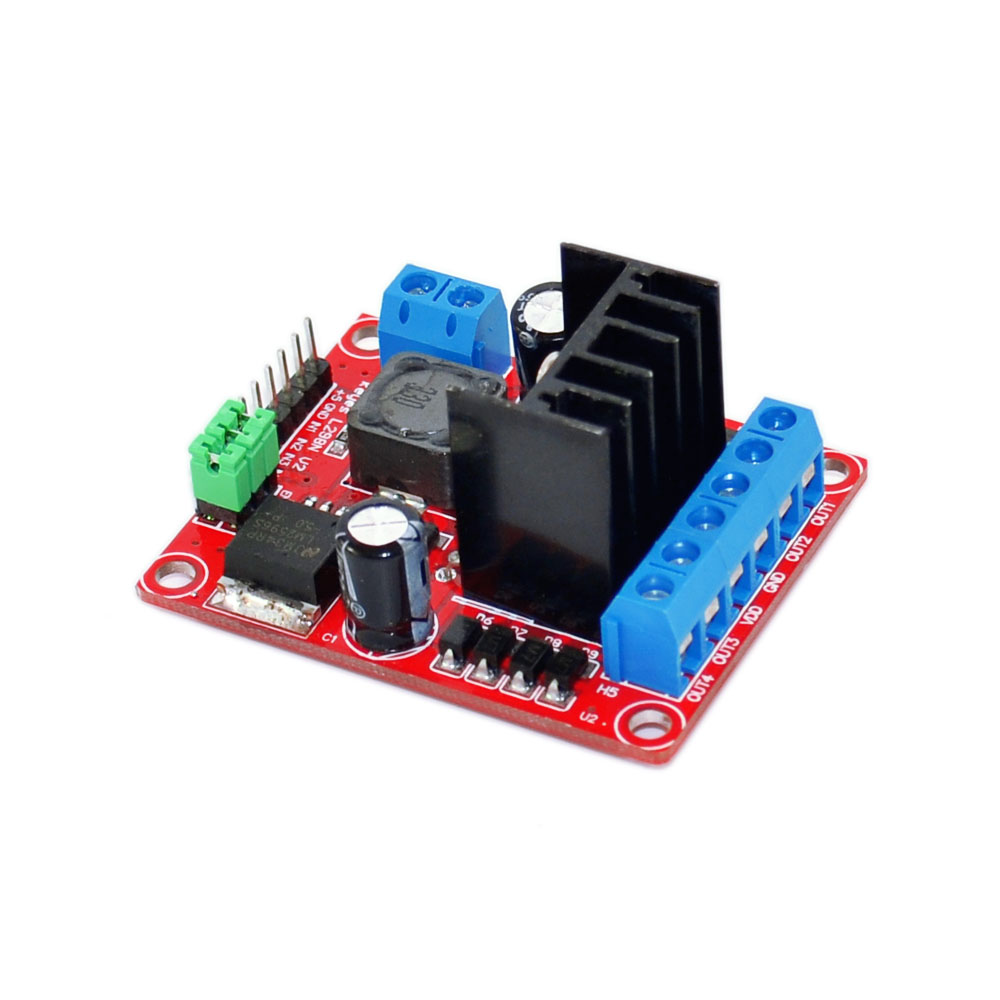 Keyes Integrated DC - DC Output 5V DC Stepper Drive Controller Board L298N V2 Module For Arduino