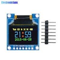 0,95 дюймов 96*64 SPI полноцветный oled-дисплей 7pin DIY модуль 96x64 LCD для Arduino SSD1331 Драйвер IC 3,3 V 5V Высокое качество