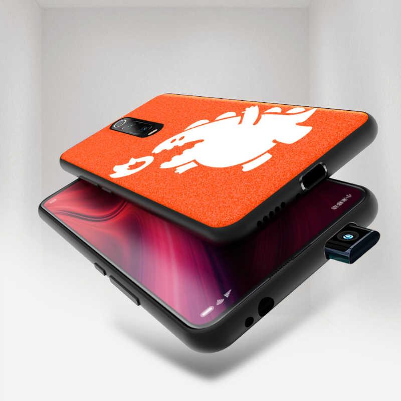 Чехол для Xiaomi mi 9 T, глобальная версия, оригинальный кожаный чехол для занятий спортом, уличной культурой, Королем-демоном, красным mi K20 Pro 9T