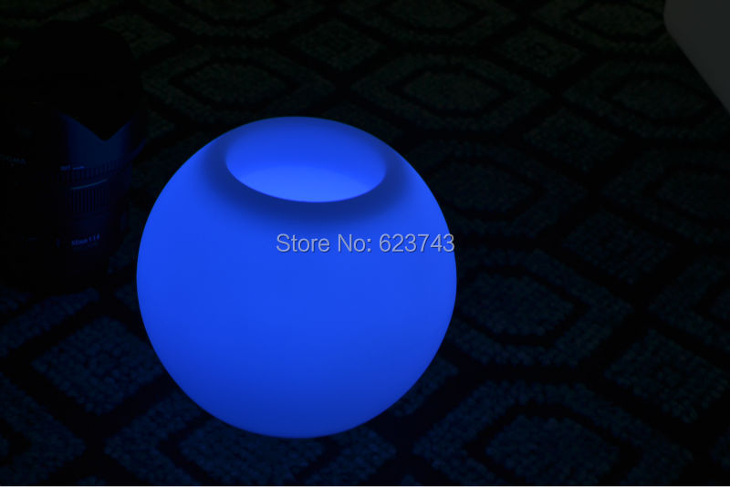 Ball Bars Table Light Waterproof Rechargeable For LED Flower Pot/LED Ice Bucket/LED Storage Tank
