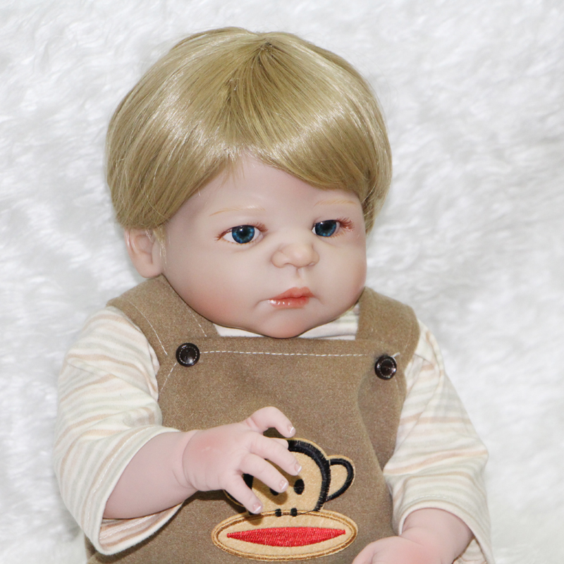 55cm Full Body Silicone Reborn Dolls Lifelike Reborn