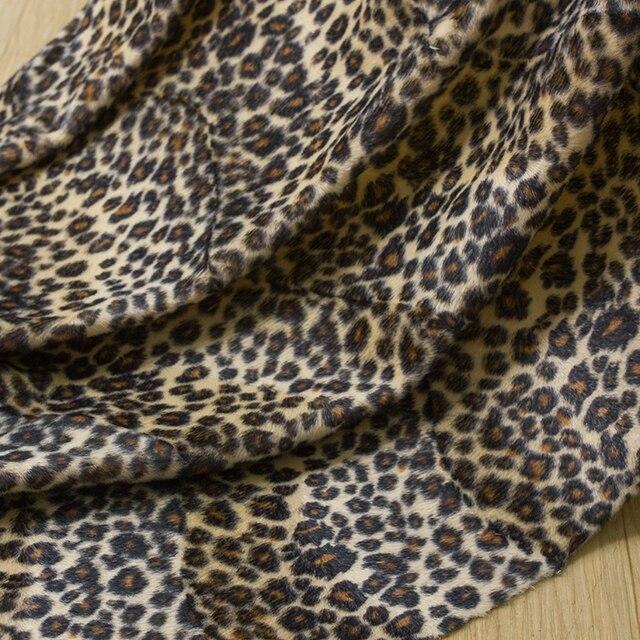 Geral curto plush sofá pano impresso pano tecido DIY brinquedo do sexo tigre leopardo cópia da vaca animal tecido de veludo R149