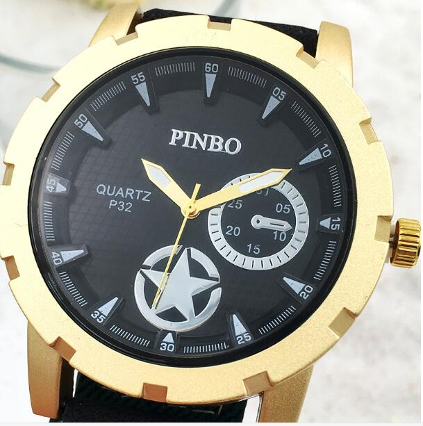 Relogio Masculino 2017 New PINBO Famous Brand Fashion Men Watch Military Casual Watches Men Canvas Quartz Clock Reloj Hombre stephen cole doctor who ten little aliens