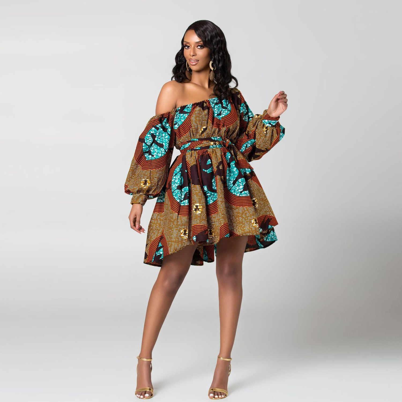 Для женщин сексуальное платье обтягивающая, с открытыми плечами с длинным рукавом в клетку платье с принтом женские, повседневные, свободные Платье для вечеринки