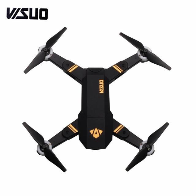VISUO XS809 2.4G Mini Foldable FPV Selfie Drone RC Quadcopter with 720P Wide Angle Camera Altitude Hold Headless Mode fz