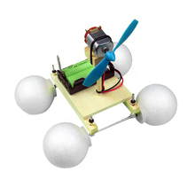 Puzzle Amphibious Model Car Science Technology DIY Assembling Gizmos Material For Children
