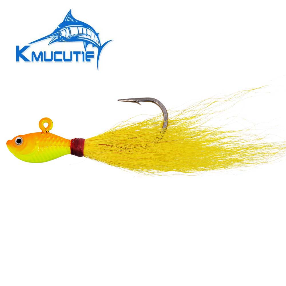 100 BUCKTAIL TEASERS CRYSTAL FLASH BUCK TAIL TEASER FLUKE SEA BASS RIG FLY RED