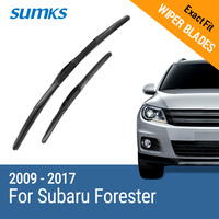 Car Wiper Blades For Subaru Forester From 2013 Onwards 26 17 Rubber Front Windscreen Car Accessory