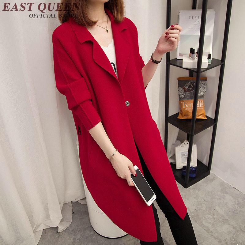 4 Yq Chandail Surdimensionné Arrivée 2 Longues Nouvelle 1 Automne Femmes À 5 Occasionnel 3 2018 Manches Cardigan Veste Outwear Aa2737 1nxXI6YU