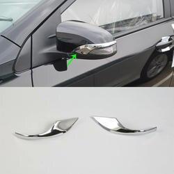 2017 ABS пластик заднего вида автомобиля зеркала накладка украшения отделка 2 шт. для TOYOTA COROLLA 2017
