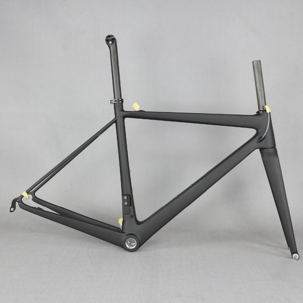 2019 Newest frame!!carbon road frame bike parts FM686 carbon bicycle frame, super light frame with Zero Offset image