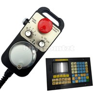 4Axis CNC Controller Kit MPG Pendant Handwheel w/Emergency Stop + 4 Axis CNC Controller XC609MD
