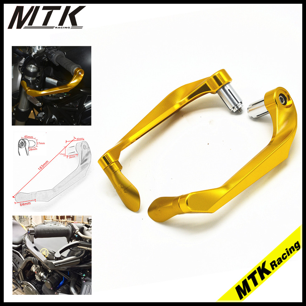 MTKRACING7 / 8''22mm Brake Clutch For Suzuki GSX 1250 GSXR 1000 600 750 Handle Protection CNC Aluminum Lever Protective Cover