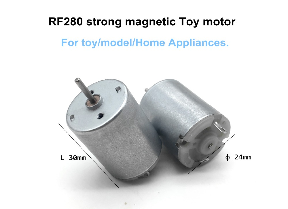 RF280 3-12V Brush Dc Motor Strong Magnetic Toy Micro Motor Toy/model/Home Appliances DC Motor Small Motor