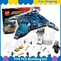 774pcs Super Heroes Captain America Civil War Airport Battle Iron Man 07034 Model Building Blocks Gifts Set Compatible With Lego