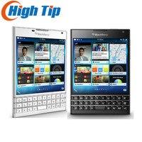 Débloqué Original BlackBerry passeport Q30 LTE BlackBerry OS 10.3 Quad core 3 GB RAM 32 GB ROM 13MP Caméra cellulaire téléphone remis à neuf