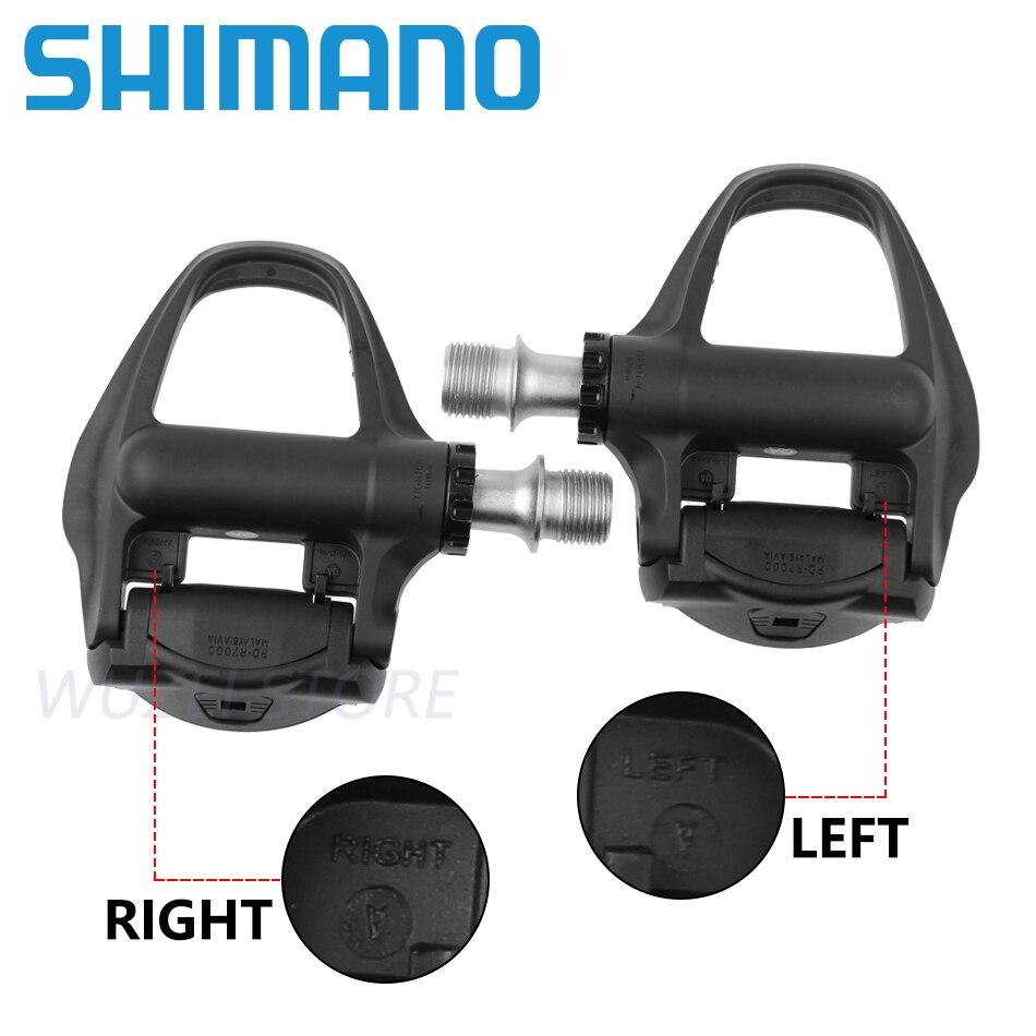 Componentes de pedales SPD de bloqueo automático SHIMANO 105 PD 5800/R7000 que se utilizan para piezas de bicicleta de carretera - 3