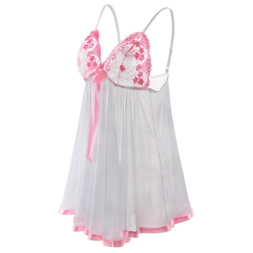 Chamsgend Unique Attire Ladies Horny Lingerie Nightwear Underwear Pyjamas Lace Sleepwear Babydolls Chemises Ladies Gown 80108 HTB1hKzIkP3z9KJjy0Fmq6xiwXXa8