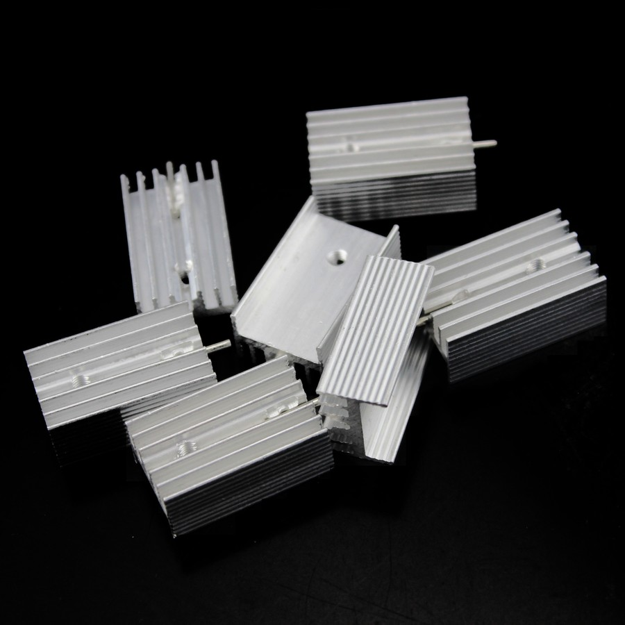 1000 PZ Silicon Dissipatore di calore termico isolante Pads per TO-220 TRANSISTOR Y3Y7