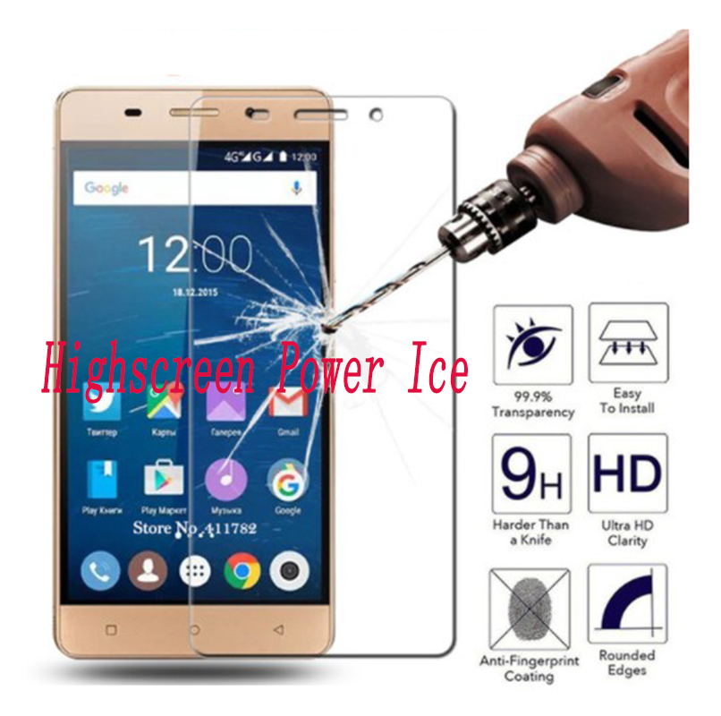 2PCS NEW Screen Protector Phone For Highscreen Power Ice / Ice Max / ICE EVO Tempered Glass SmartPhone Film Protective Cover