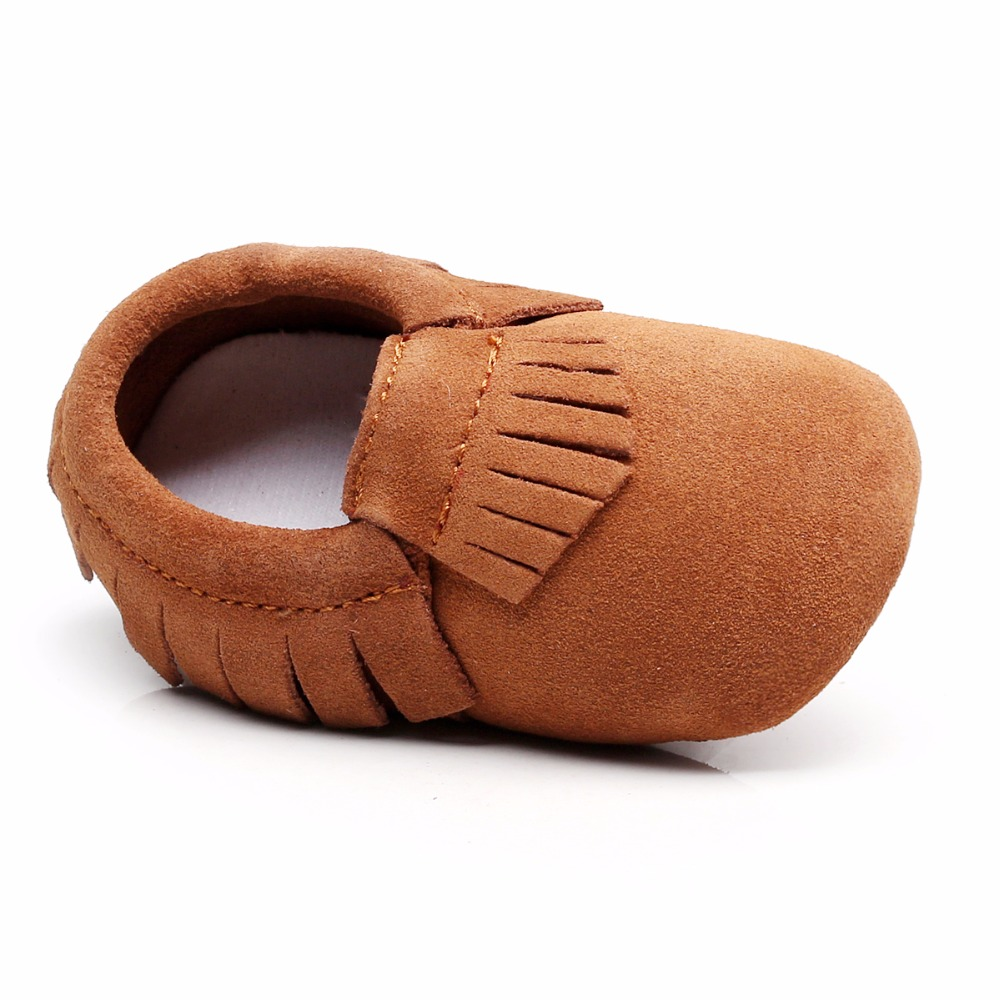 HONGTEYA New arrive Genuine Leather Non-slip Baby Infant Toddler Soft Moccs grils Shoes First walkers baby moccasins baby shoes
