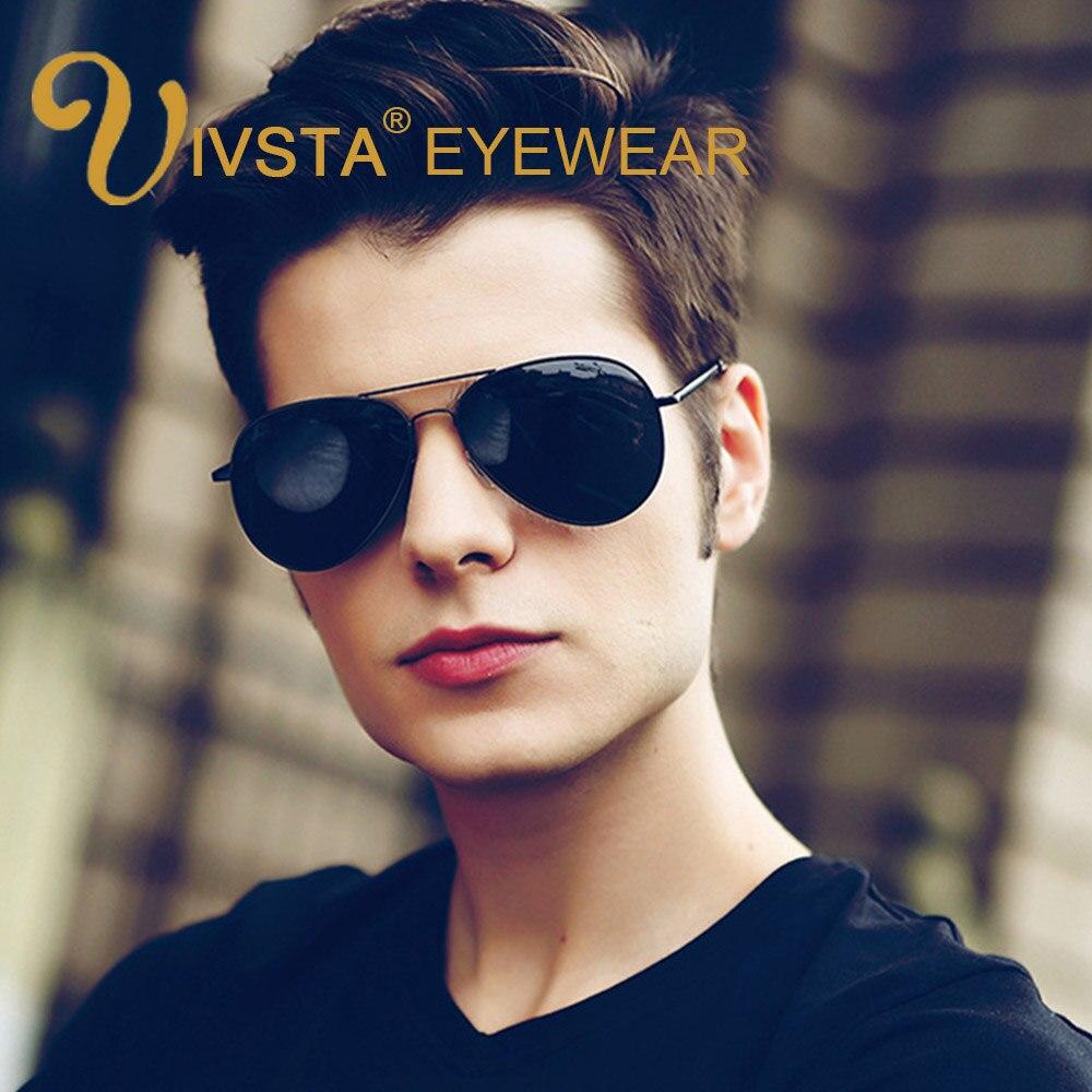 IVSTA Pilot Sluneční brýle 3025 58mm Pánské sluneční brýle Pánské polarizované čočky Vysoce kvalitní denní noční brýle Brýle na řidiče Dámské
