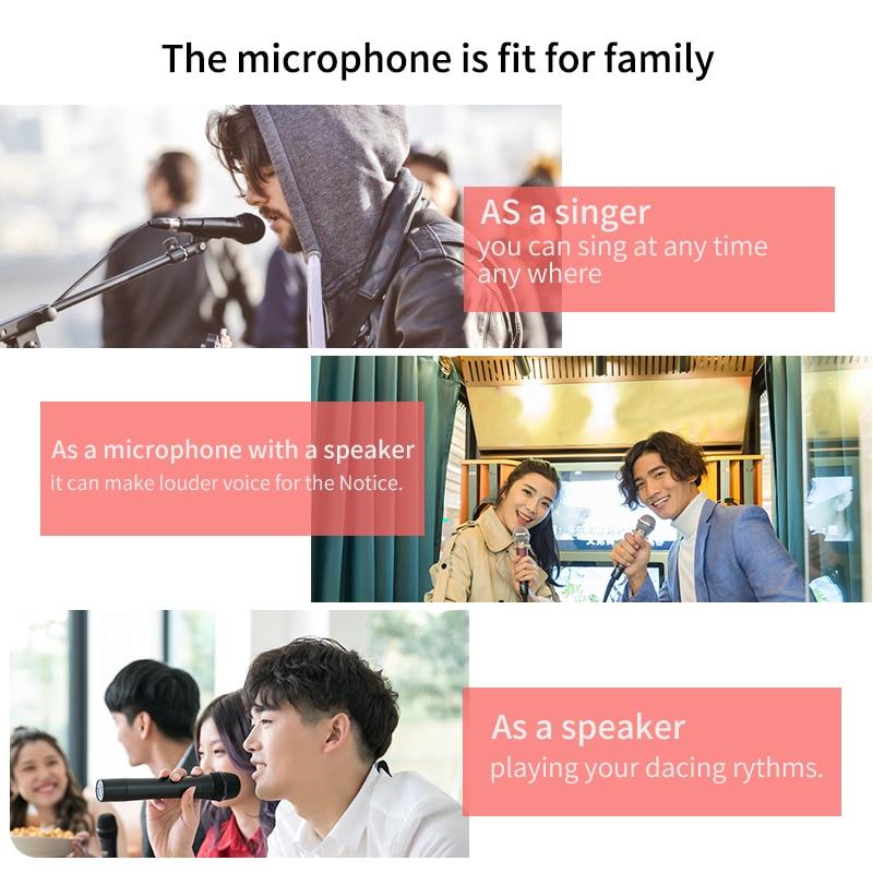 Микрофон беспроводная Bluetooth микрофон, чтобы петь для компьютера в любое время можно петь микрофон караоке