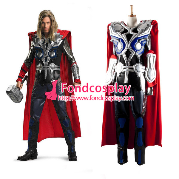 The Avengers Thor Outfit  Movei Cosplay Costume Tailo-made