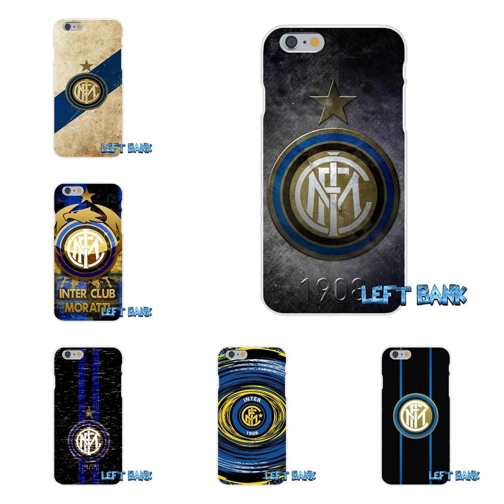 For Inter Milan Football Club Logo Slim Silicone Case For Huawei G7 P8 P9 p10 Lite 2017 Honor 5X 5C 6X Mate 7 8 9 Y3 Y5 Y6 II