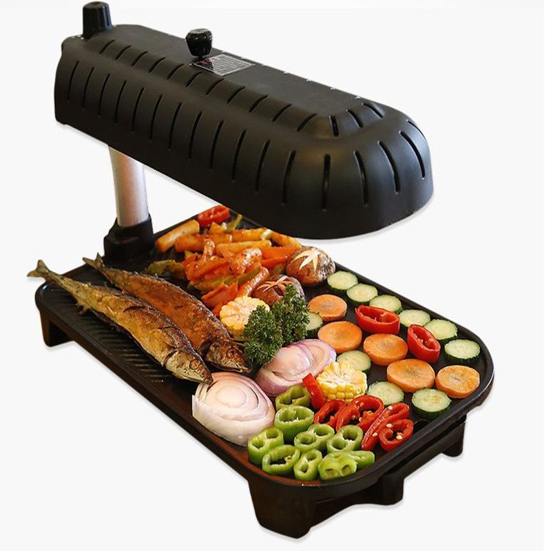 220v Smokeless Household Electric Grill Non Stick Korean