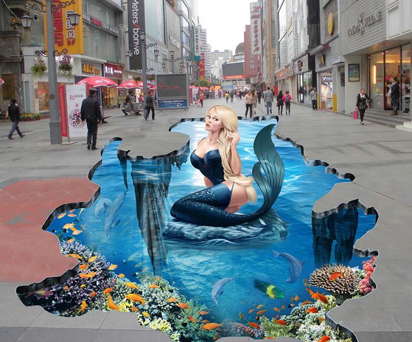 Online Buy Wholesale Mermaid Wallpaper From China Mermaid