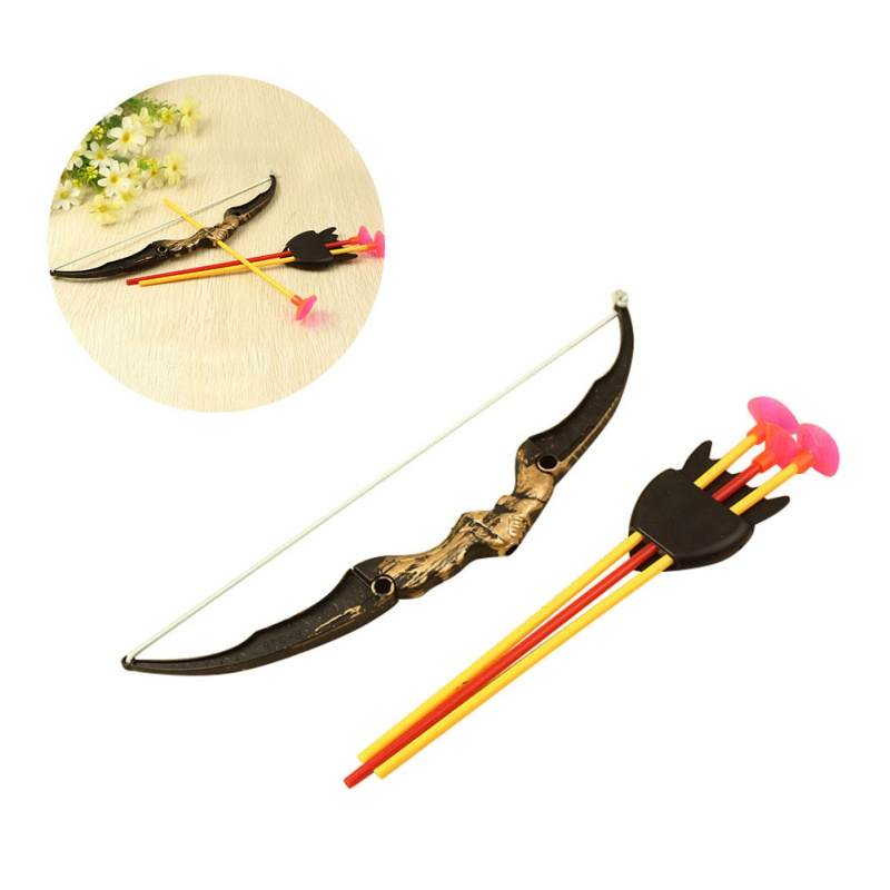 2018 High Quality Shooting Outdoor Sports Toy Bow and arrow Toy Set Plastic toys for Children Kids outdoor Funny toys E1
