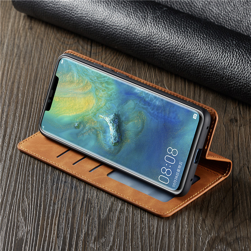 Magnetische Leder Fall F r Huawei Mate20 P20 P30 Pro Lite P Smart Plus 2019 Honor10lite