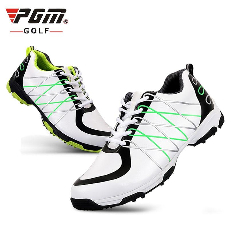 Microfiber leather outdoor golf shoes men  3D breathable  waterproof  anti-sliding spikes natural rubber falt ultra-light 279g golf 3 td 2011