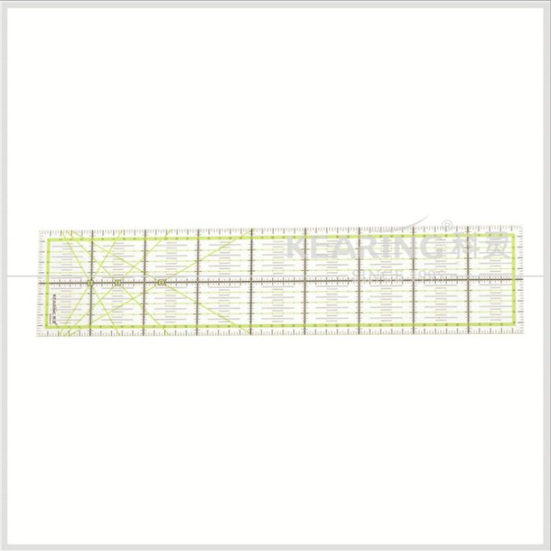 2016 New Rulers 1pcs Home Garden Arts Crafts Sewing Needle Arts Craft Sewing Tools Accessory 45 * 10cm *0.3cm Patchwork Ruler