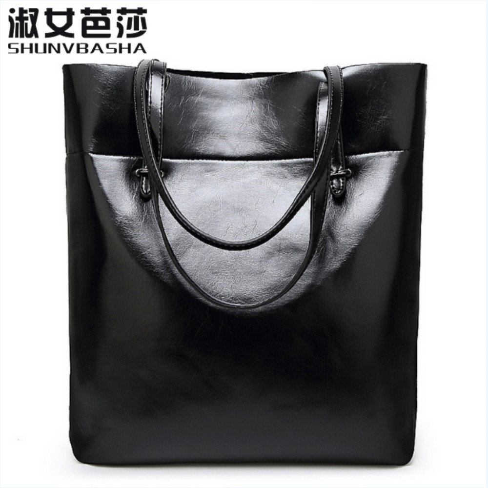 SNBS 100% Genuine leather Women handbags 2017 New Simple fashion  shoulder diago