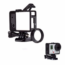 Mount Standard Protective Housing The Frame Fit For Gopro Hero 4/3+ &uv Protector Camcorder Accessories