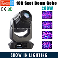 Free Shipping New Product 280W 10R Spot Beam Gobo LED Moving Head Lights 10R 280W Moving Light Movinghead