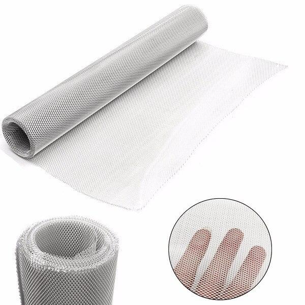50cm x 3m Fine Aluminium Modelling Mod Mesh Wire Filter Sheet Hole ...
