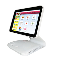 15 . 6inch Touch Screen All In One POS System / Cashier POS Machine