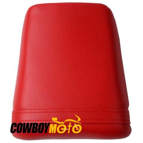 Motocycle Red Rear Passenger Seat Pillion Cushion Cover For Honda CBR400 NC23