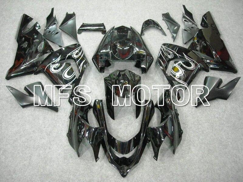 Для Kawasaki ниндзя ZX10R 2004 2005 04 05 ABS инъекции Обтекателя комплекты ниндзя ZX 10r с 04 05 Белый пламя черный мотоцикл аксессуары