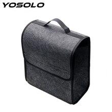 YOSOLO Auto Rear Storage Pouch Holder Box Car Organizer Car Trunk Storage Bags Seat Back Tool